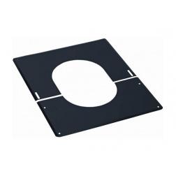 Plaque de finition Noir de 0 à 30 ° - Ø 180 mm