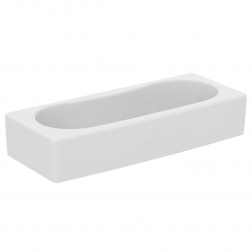 Lavabo collectif 100 X 40 cm forme arrondi - S 327501