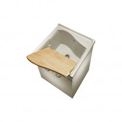 Bac à laver LAGO 75 x 61 Blanc - J 350001
