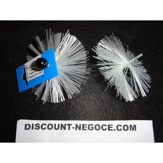 Hérissons PVC filetage 5 x 80 pour Flexonet