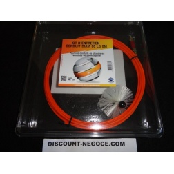 Kit Ramonage Cable long 8 m + 1 Brosses Ø 80 mm