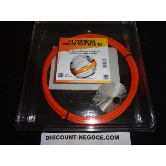 Kit Ramonage Cable long 8 m + 1 Brosses Ø 80 mm