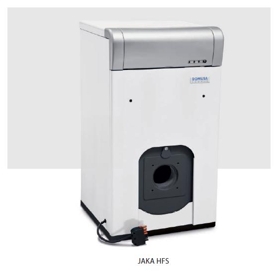 Chaudiere Fioul fonte 39.4 kw cheminée sans bruleur JAKA HFS40