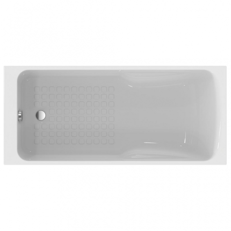 baignoire douche hotline 170 x 80 acrylique blanc p 116801 discount negoce com. Black Bedroom Furniture Sets. Home Design Ideas