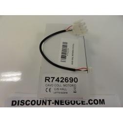 Cable branchement MOT S/HALL pour Motoréducteur code 742 690