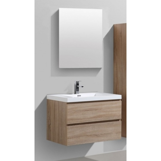 ensemble meuble de 600 bali ch ne clair 2 tiroirs discount negoce com. Black Bedroom Furniture Sets. Home Design Ideas