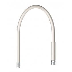 Flexible Blanc de 0.95 m F 1/2 pour robinetterie de Cuisine