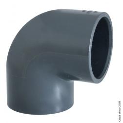 Coude PVC Pression Ø 50 mm FF 90°
