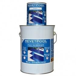 Revêtement Epoxy melange Bi composant souple Bleu - 60100B