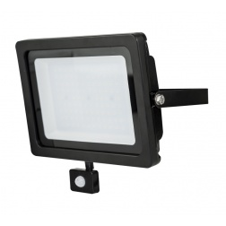 Projecteur LED 50 w IP 54 Noir 4000 Llm -EFL50B40PIR-MP