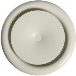 Bouche de soufflage Acier Blanc Ø Int 80 mm