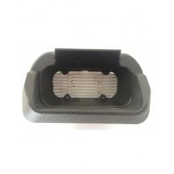 Creuset en fonte avec grille inox intégrée - 645 490