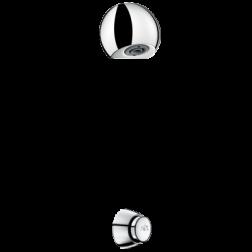 Ensemble de Douche à traversée de cloison - 749212