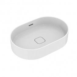 Vasque gré ovale à poser STRADA II 60 X 40 Blanc T 298101