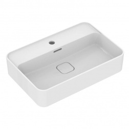 Vasque gré rectangulaire à poser STRADA II 60 X 40 Blanc T 299801