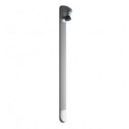 Applique de douche modèle DL 400 E-TOUCH prêt à poser en gris satiné - 27432
