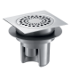 Siphon Sol Douche Italienne Grille Inox 150 X 150 683001