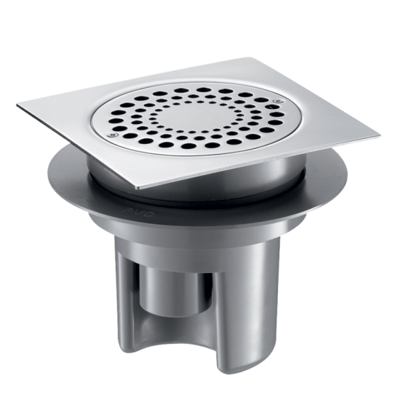 Siphon Sol Douche Italienne Grille Inox 150 X 150 Discount Negoce Com