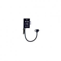 Coffret incluant interrupteur différentiel 30 mA compteur horaire -R01
