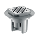 Siphon Sol Douche Italienne Grille Inox 100 x 100 682001