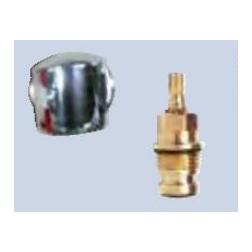 Poignée de mélangeur ABS Tete 1/2 en 1/2 Tours - EC - D99H071AA