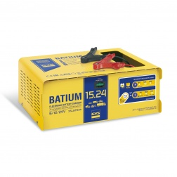 Chargeur Automatic BATIUM 15 A pour batterie 6 / 12 / 24 V - 024526