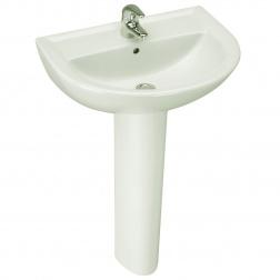 Lavabo ULYSSE 2 50 X 44 Blanc - P 1254 01