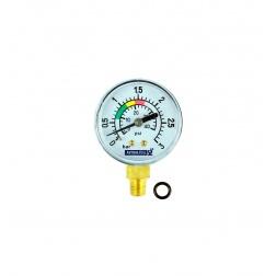 Manomètre de Pression 0 à 2.5 Bars pour Filtre - 4404220102