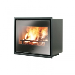 Insert à Bois 9.6 KW FIREBOX LUCE PLUS 62 Convention Naturelle
