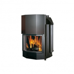 Thermocheminé 29 KW à bois ACQUATONDO CS Prismatique - 276350
