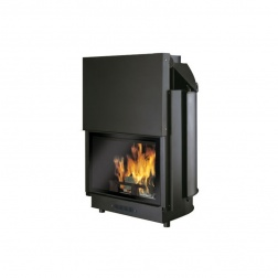 Thermocheminé 29 KW à bois ACQUATONDO PLUS/CS - 656360