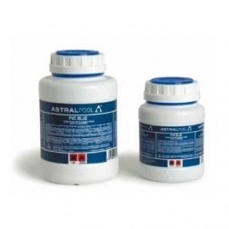 Pot de colle PVC Bleue Astral spécial piscine 250 ml