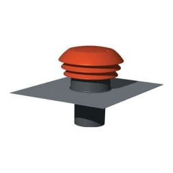 Chapeau de sortie de toiture plastique Ø 160 mm - CTT160
