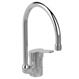 Mitigeur Evier OLYOS Bec Tube orientable D1193 AA