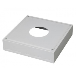 Cache conduit de 450 x 450 blanc Ø 80 mm - 482980