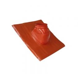 Solin plomb 5° à 30° etancheité de toiture Brun Ø 80 / 125