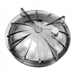 Dome de Filtre Ø Ext 228 mm transparent avec purge joint - ZABL20