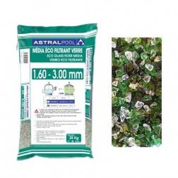 Verre Eco Filtrant de 1.60 à 3.00 mm - sac 25 kg