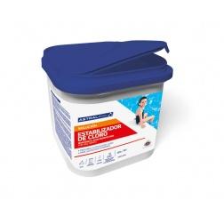 Traitement Poudre Stabilisant de Chlore - Bidon 4.5 kg - A40005