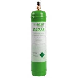 Bouteille de réfrigérants R422 rechargeable 850 gr - COR30003