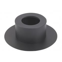Cache conduit rond noir de Ø 80 mm - 482880