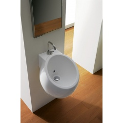 Lavabo PLANET suspendu Ø 45 cm Blanc - Art 8100