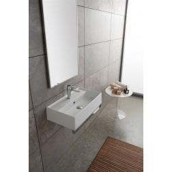Lavabo TEOREMA à poser ou suspendu 60 X 35 Blanc - Art 5002