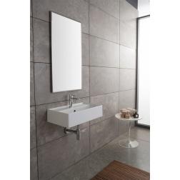 Lavabo TEOREMA à poser ou suspendu 41 X 35 Blanc - Art 5001