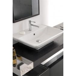 Lavabo THIN-LINE KYLIS R à poser 62 X 44.5 Blanc - Art 8046/R