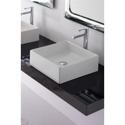 Lavabo TEOREMA 46 à poser 46 X 46 Blanc - Art 8031