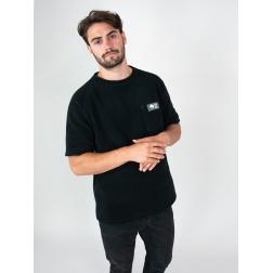 Tee-shirt polaire ATLAS avec poche verticale NOIR