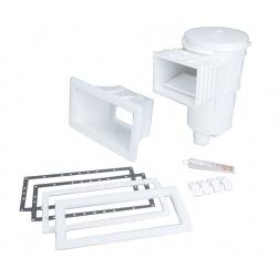 Skimmer 15 L Panel Protect pour Piscine Panneau Blanc - 30866