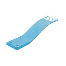 Plongeoir Polyester armé DELFINO - Bleu - 00076