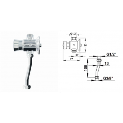 Kit complet pour Urinoir PORCHER en Angle - 31936